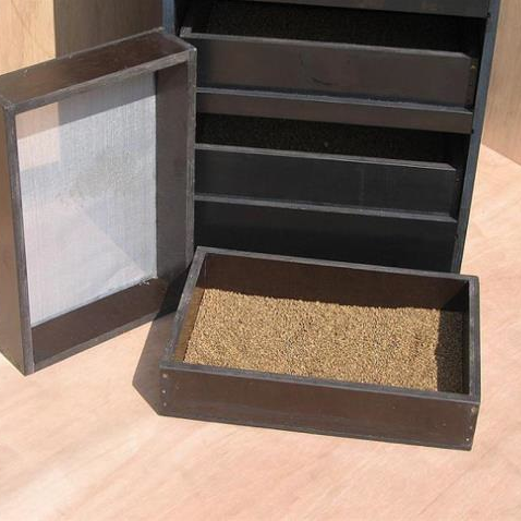 Drawer dryer for seed
